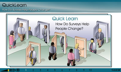 Launch Surveys Help People Change